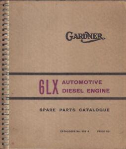 gardner 6lx diesel engine factory spare parts catalogue ebay rh ebay co uk