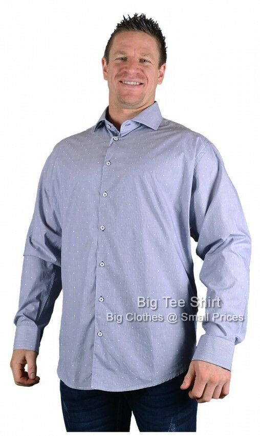 Big Mens bluee Lizard King Rider L S Shirt  2xl 3xl 4xl 5xl 6xl 7xl 8xl