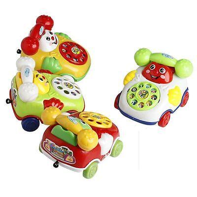Baby Toy Cartoon Phone Music Educational Kids Toys Gift Developmental