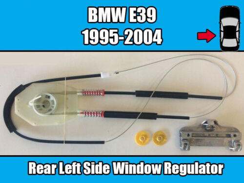 BMW E39 1995-2004 Rear Left Window Regulator Repair Kit