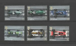 GB 2007 GRAND PRIX STAMP SET UM MINT