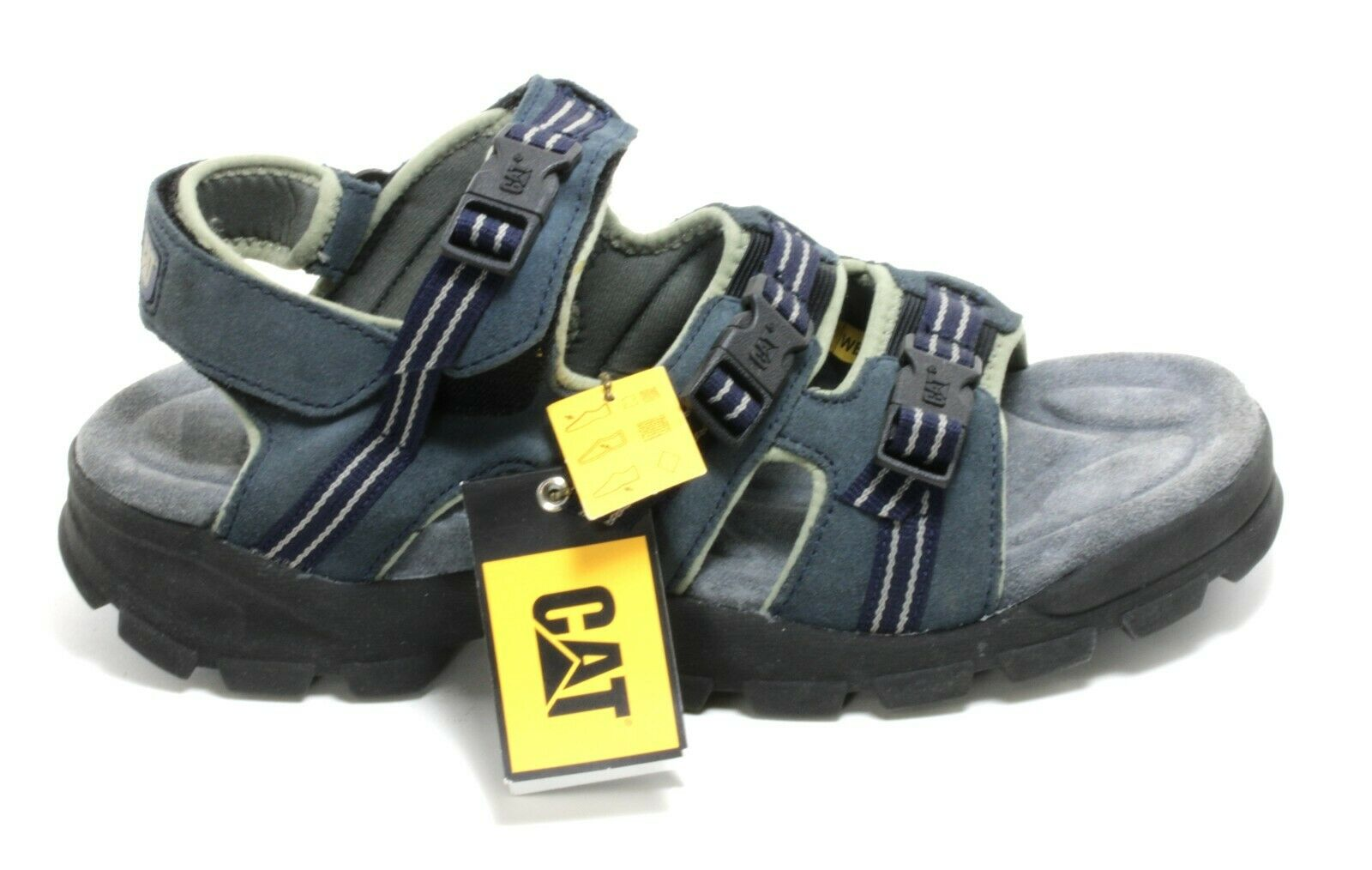 705 Sandal Trekking Touch Fastener Outdoor Shoes Summer Leather Caterpillar 45