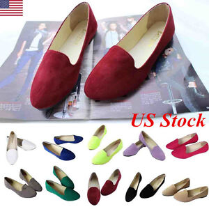 WOMENS-WORK-LOAFER-FLATS-PUMPS-LADIES-OXFORDS-BALLET-BALLERINA-DOLLY-SHOES-SIZE