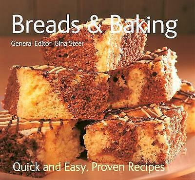 """""""AS NEW"""" Breads & Baking: Quick & Easy, Proven Recipes, , Book"""