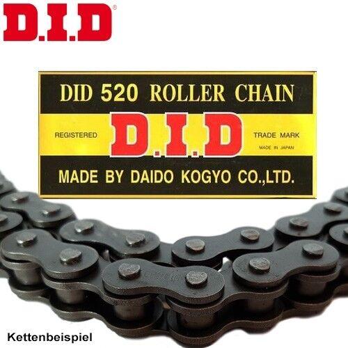 DID Chaîne KTM 125 lc2 Bj 1998 125lc2 rôles Chaîne 520 noir clip