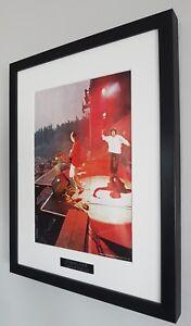 The-Stone-Roses-Framed-Original-NME-Plaque-Certificate-Ian-Brown-RARE
