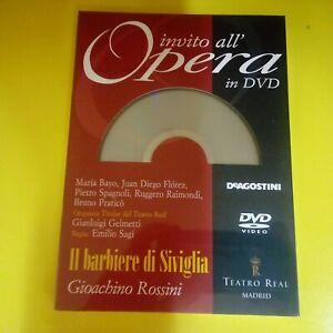 DVD-N-7-Invito-all-039-Opera-in-DVD-DeAgostini-Il-Barbiere-di-Siviglia-NUOV-Blister