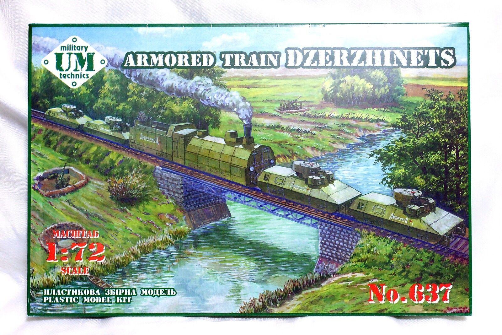 UMmt UMmt UMmt 1 72 637 WWII Soviet Red Army Armored Train  DZERZHINETS  583