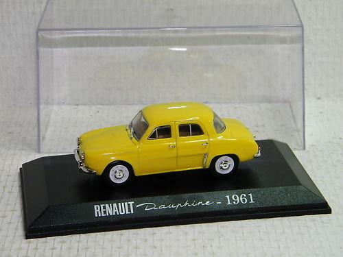 IXO IXO IXO ALTAYA - RENAULT DAUPHINE 1961 JAUNE 863e45