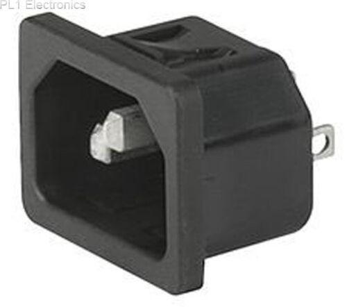 Inlet SCHURTER IEC C14 10A 6100.4215 6100