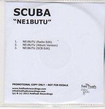 (CZ565) Scuba, Ne1butu - 2012 DJ CD