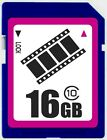 FilmPro 16GB SD class10 C10 16GB SDHC 2.0 secure digital memory card bulk