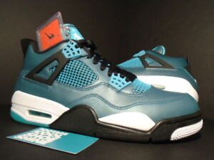 Nike-Air-Jordan-IV-4-Retro-30th-TEAL-GREEN-WHITE-BLACK-CEMENT-705331-330-NEW-8-5