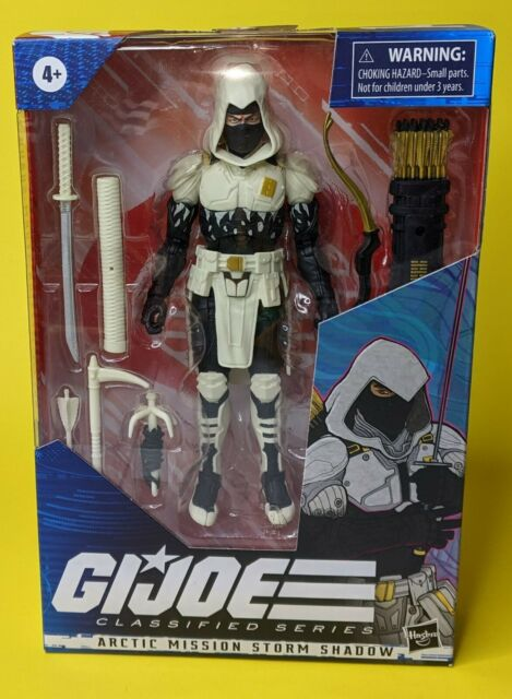 Arctic Mission Storm Shadow figure 2020 Hasbro G.I. Joe Classified AMAZON exc