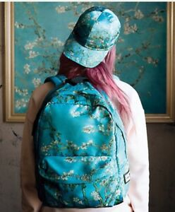 d85bc32dd21c Details about NWT Vans X Van Gogh Almond Blossom Backpack in Van Gogh VERY  LAST ONE!
