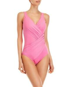7809e890c1971 Image is loading MIRACLESUIT-MIRACLE-PINK-2-PCE-SWIMSUIT-amp-SARONG-