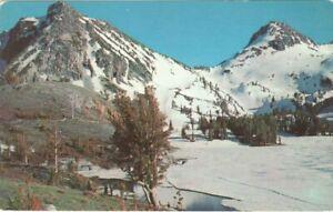 Wallowa-Mountains-Oregon-Vintage-Unused-Postcard-A112