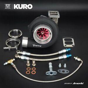 KURO GTX3582R GEN2 Ball Bearing Turbo w/ T3 Twin scroll 0.61 A/R housing GEN II