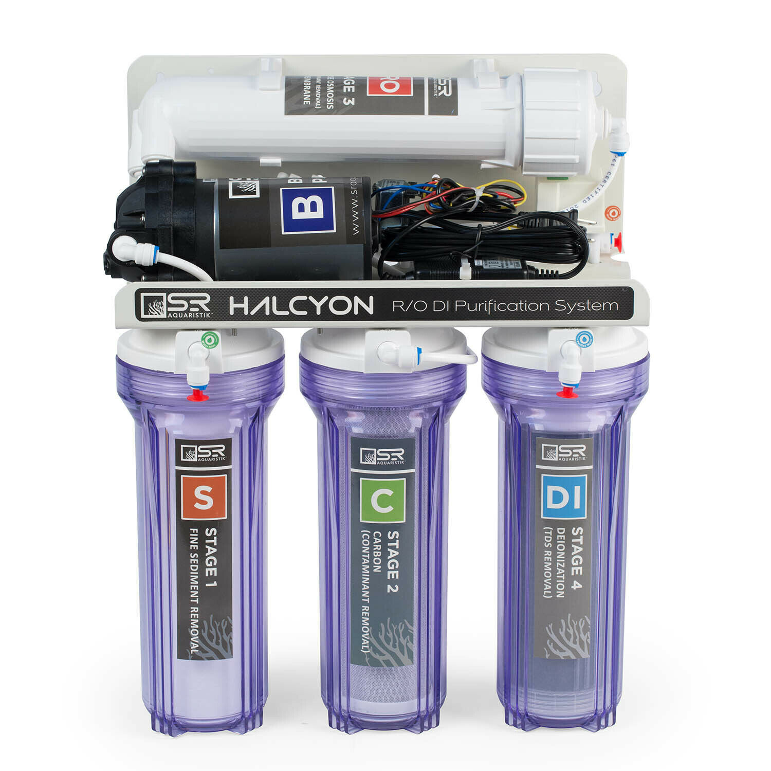 HALCYON - 4 Stage PRO RO DI Purification System SR Aquaristik