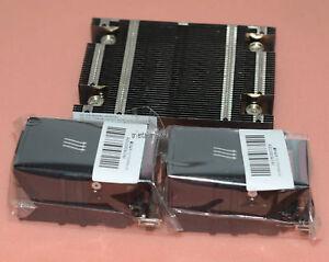 Heatsink 654757-001 /& 2 Fans 654752-001 New HP DL360 DL360p G8 Xeon CPU Kit
