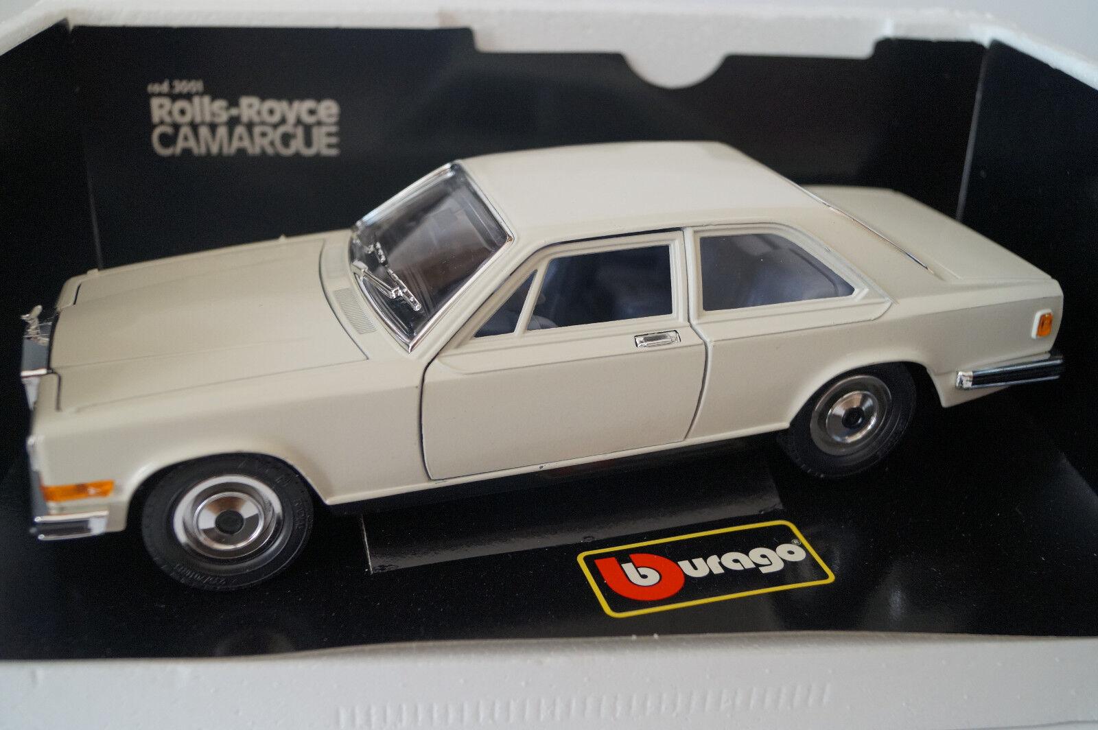 BBURAGO BURAGO voiture  miniature 1 18 1 22 Rolls-Royce Camargue cod. 3001  dans neuf dans sa boîte   les clients d'abord la réputation d'abord