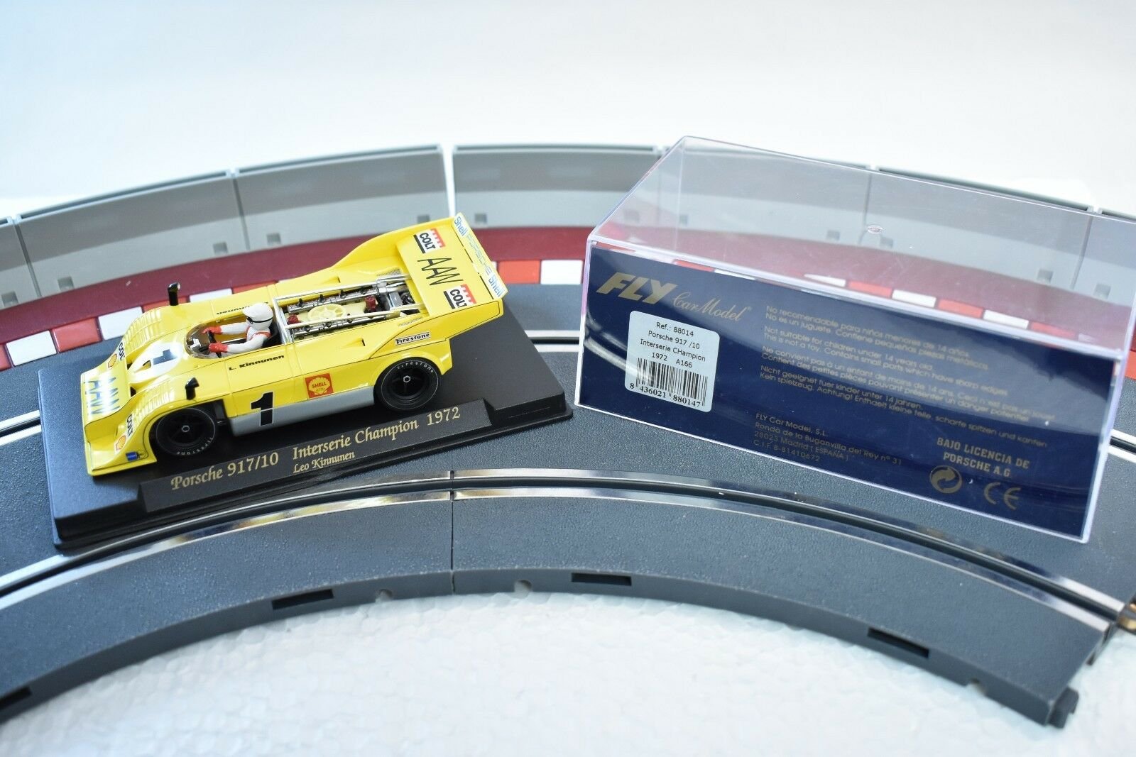 88014 FLY CAR MODEL 1 32 SCALE PORSCHE 917 10 INTERSERIE CHAMPION 1972 A166