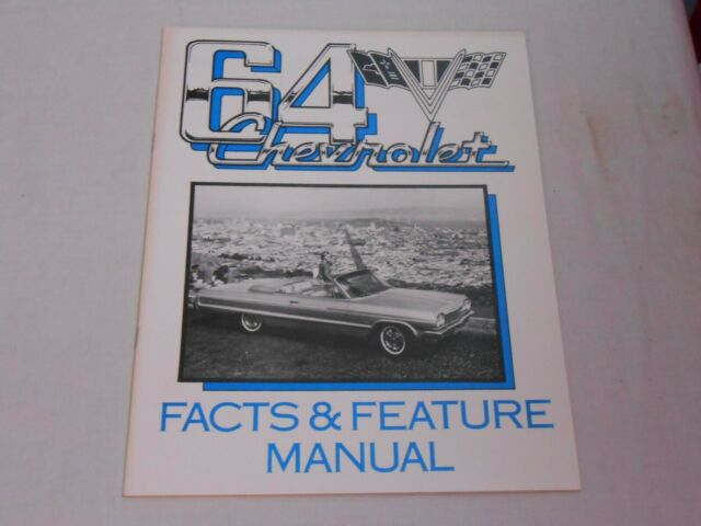 1964 Chevy Feature  U0026 Specs Manual