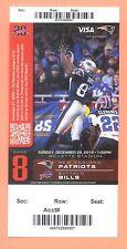 Bills  Patriots 2014 Super Bowl Championship ticket David Givens photo Tom Brady