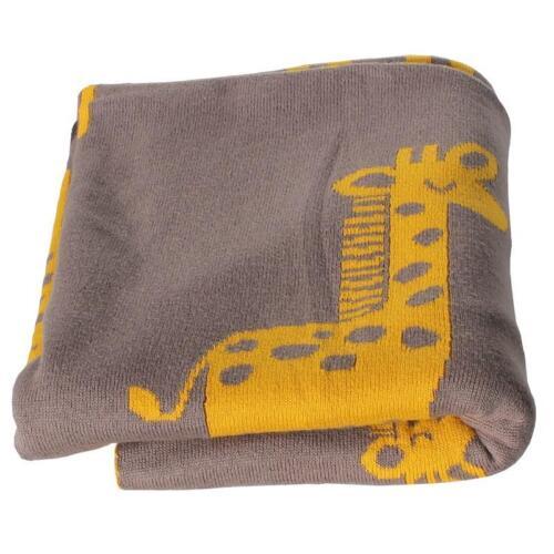 ClevereKids  Baby Kuscheldecke Baumwolle Ökotex100 Einschlagdecke 90x110 cm