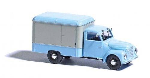 Busch 52001-1//87//h0 framo v901//2 carro maleta-azul//blanco-nuevo