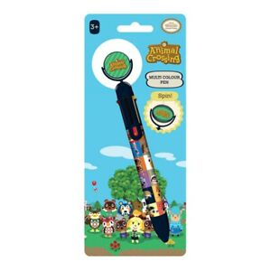 Genuine Animal Crossing Villager Squares Multi Coloured Pen Stationery