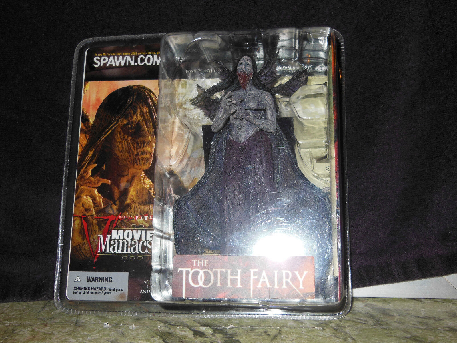 McFarlane Movie Maniacs Series Five The Tooth Fairy Figure