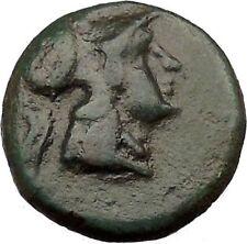 Antigonos II Gonatas Macedonian King Ancient Greek coin Athena PANIC God  i36823