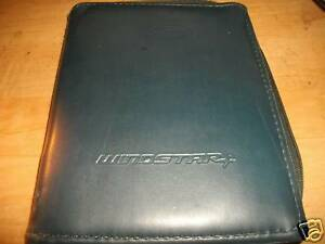ford windstar deluxe owners manual case