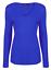 Womens-Ladies-Girls-Plain-Long-Sleeve-V-NECK-T-Shirt-Top-Plus-Size-Tops-Shirt thumbnail 23
