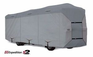 S2-Expedition-Premium-Class-A-RV-Cover-fits-29-039-30-039-Length-GRAY