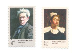 Irlande-roderic O, Conner Artiste Set De 2 Neuf Sans Charnière (2009-10)-c O,conner Artist Set Of 2 Mnh (2009-10)fr-fr Afficher Le Titre D'origine