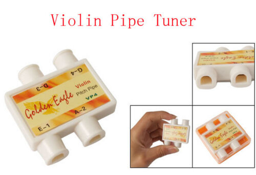TUNING PITCH PIPES, IDEAL FOR VIOLIN, GREAT QUALITY, NEW AND CASED, UK SELLER