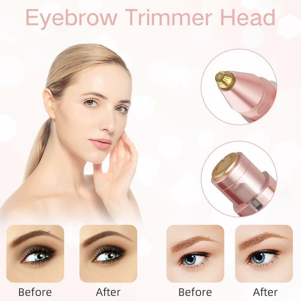 Elektrischer Augenbrauen Entferner Eyebrow Rasierer Brauen Stift Trimmer Frauen