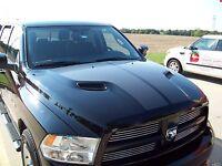 2010-15 Dodge Ram 1500 Srt 10 Performance Full Sport Hood Graphic Matte Black