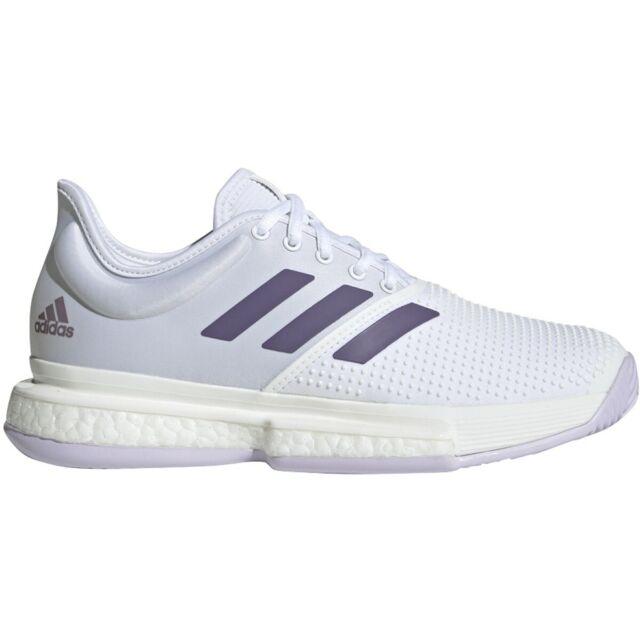 Women adidas Ef2464 Solecourt Boost Tennis Shoe Trainer Size 9.5