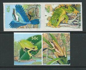 AUSTRALIA-1999-PICCOLA-POND-AUTOADESIVO-SENZA-CORNICE-COME-NUOVO-NUOVO-LINGUELLA