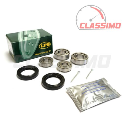 Front Wheel Bearing Kit Pair for FORD ZEPHYR /& ZODIAC MK 4-1966 to 1972