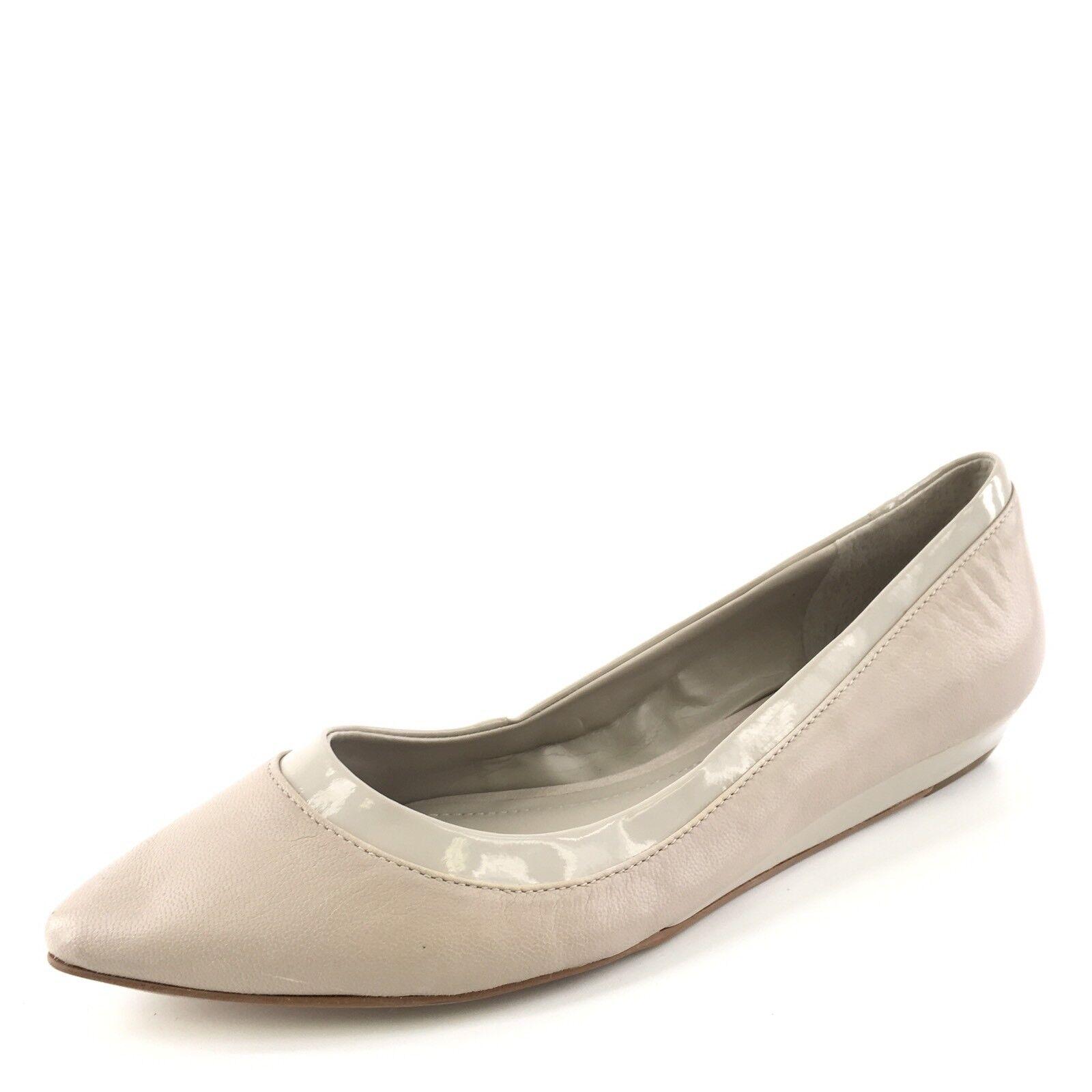 BCBGeneration Alonsa Cashmere Leder Pointy Toe Flats Damenschuhe Größe 9.5 M