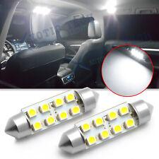 White 8 Smd Festoon 39mm 6411 578 Led Bulb Car Interior Dome Trunk Lights 6000k