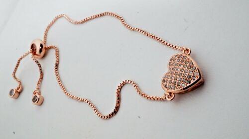 Adjustable heart bracelet FREE SHIPPING USA