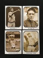 (4) CHICAGO CUBS 1907 RETRO GREATEST TEAM TCMA 1987 ODD BALL BASEBALL CARDS