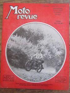 Ancienne Revue Moto Revue N° 1044 Aout 1951 Essai 125 D.k.w Yiauhhkm-08005331-655528460