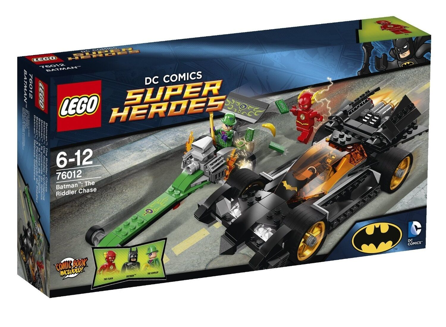 LEGO 76012 DC Super Heroes Batman The Riddler Chase (New & Sealed) RETIRED