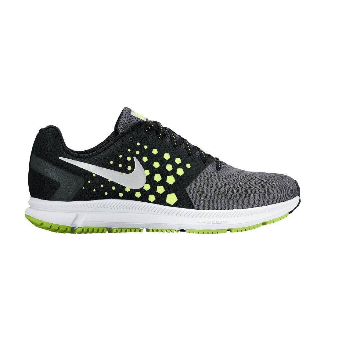 Mens NIKE ZOOM SPAM Black Running Trainers 852437 007